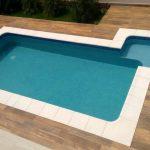 Borda de piscina Peito de Pombo